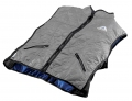 Evaporative Cooling Deluxe Sport Vest - Silver - Small