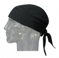 Evaporative Cooling Skull Cap - Black
