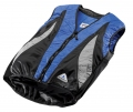Evaporative Cycling Cool Vest - Blue/Black/Silver - XXL