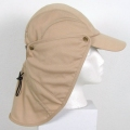 Evaporative Cooling Ultra Cap with Neck Shade