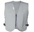 Dry Evaporative Chill Vest - Silver Grey - Large