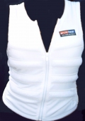 White Cooling Vest - Chest  95 cms - Medium