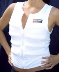 White Cooling Vest - Chest  85 cms - Extra Small
