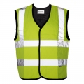 Max - Safety Evaporative Cooling Vest - Yellow- Large